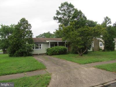 Joppa Single Family Home For Sale: 800 Foxwell Road