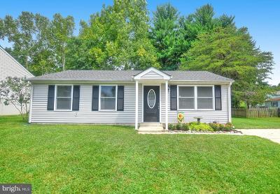 Abingdon MD Single Family Home For Sale: $214,900
