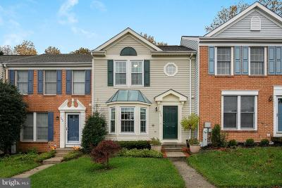 Ellicott City Townhouse For Sale: 8036 Brightwood Court