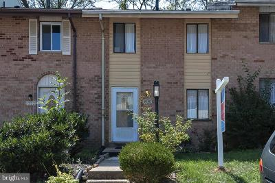 Columbia Townhouse For Sale: 9390 Indian Camp Road