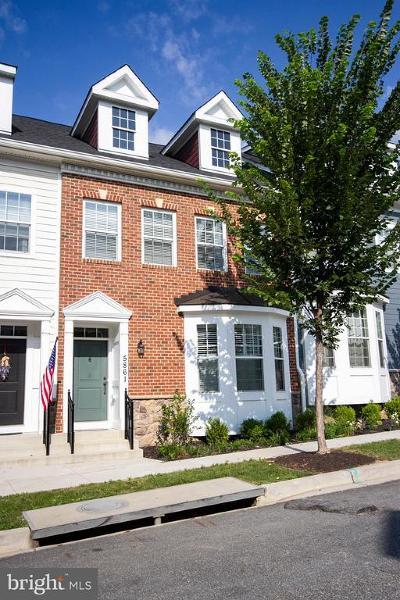 Ellicott City Townhouse For Sale: 5861 Duncan Drive