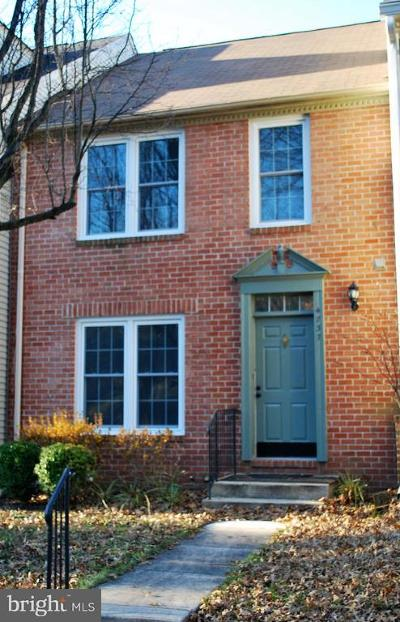 Ellicott City MD Townhouse For Sale: $354,999