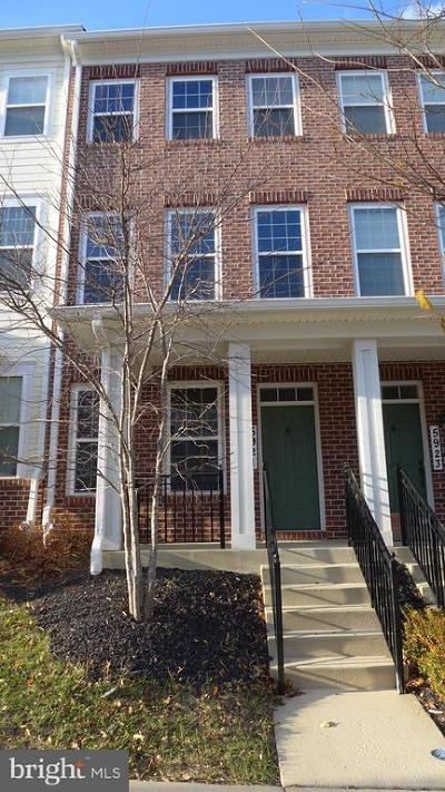 Ellicott City MD Townhouse For Sale: $415,000