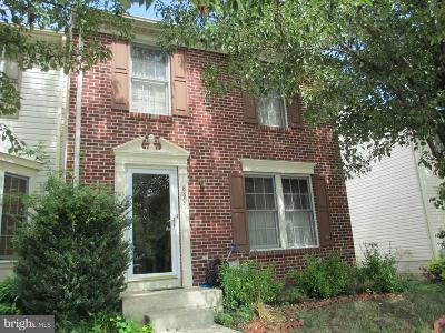 Laurel Townhouse Under Contract: 8807 Castlebury Court