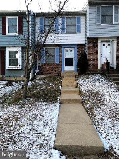Laurel Townhouse For Sale: 9236 Redbridge Court