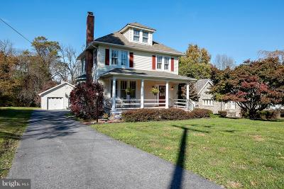 Ellicott City Single Family Home For Sale: 3922 Old Columbia Pike
