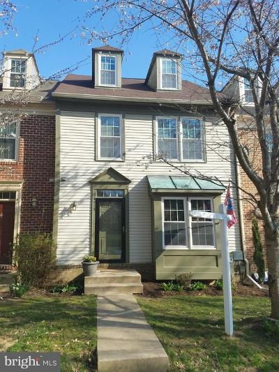 Ellicott City Townhouse For Sale: 4713 Columbia Road