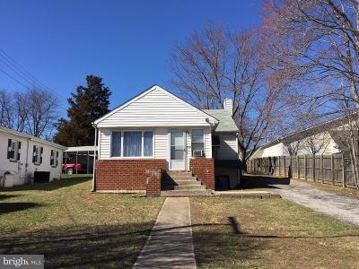 Elkridge Single Family Home For Sale: 7330 Roosevelt Boulevard