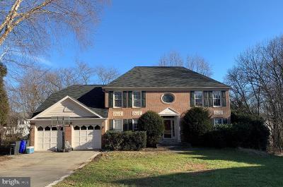 Laurel Single Family Home For Sale: 8333 Cherrybrook Court