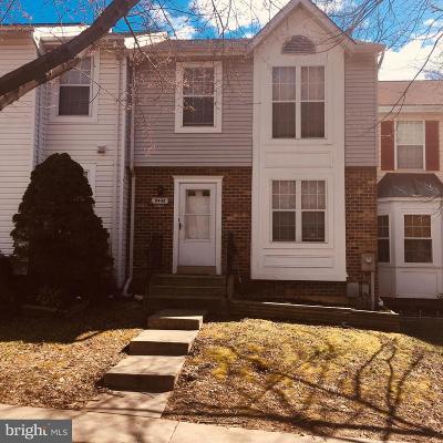 Laurel Townhouse For Sale: 9445 Fens Hollow