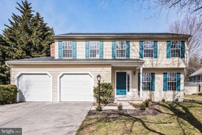 Ellicott City Single Family Home For Sale: 8712 Sicklebar Way