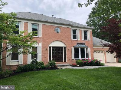 Ellicott City Single Family Home For Sale: 10318 Cromwell Court