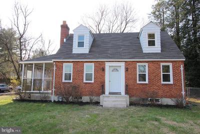 Ellicott City Single Family Home For Sale: 3110 Rogers Avenue