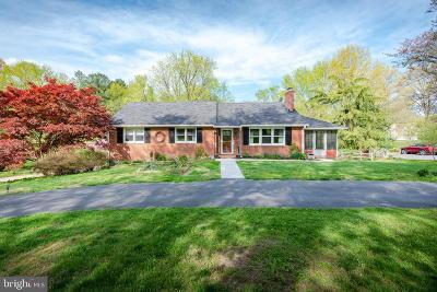 Ellicott City Single Family Home For Sale: 3230 Brookmede Road