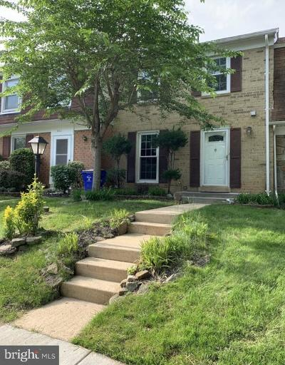 Columbia Townhouse For Sale: 11010 Bushwood Way