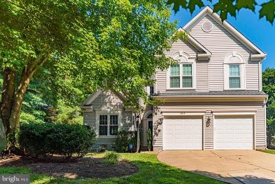 Columbia Single Family Home Under Contract: 8613 Sassafras Court