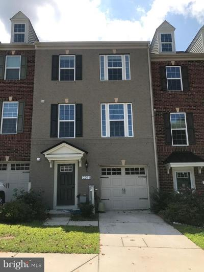Ellicott City Townhouse For Sale: 3031 Hockley Mill Drive