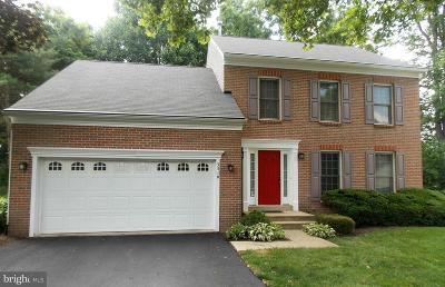 Ellicott City Single Family Home For Sale: 3510 Woodgate Court