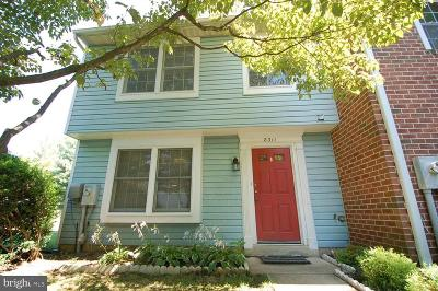 Howard County Townhouse For Sale: 8311 Sperry Court