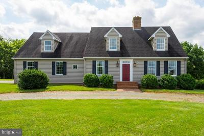 Cecil County, Dorchester County, Kent County, Queen Annes County, Somerset County, Talbot County Single Family Home For Sale: 29590 Morgnec Road