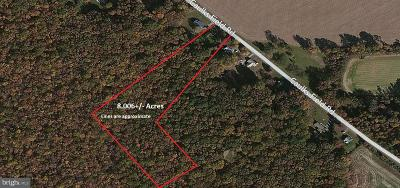 Chestertown Residential Lots & Land For Sale: 8506 Caulksfield Road