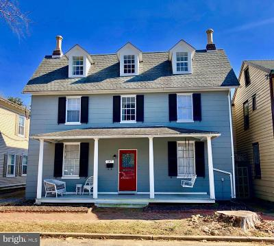 Chestertown Single Family Home For Sale: 107 S Queen Street