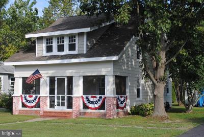 Rock Hall Single Family Home For Sale: 21212 W Sharp Street
