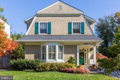 Bethesda Single Family Home For Sale: 8017 Park Lane