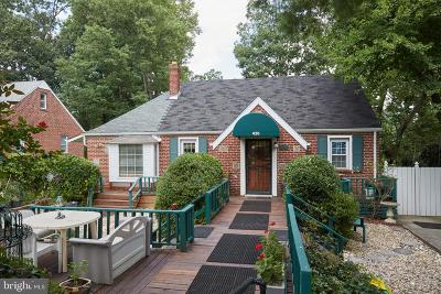 Takoma Park Single Family Home For Sale: 430 Lincoln Avenue