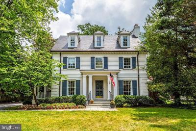 Bethesda Single Family Home For Sale: 7609 Glenbrook Road