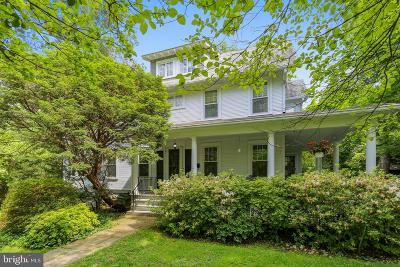 Bethesda Single Family Home For Sale: 5524 Charles Street