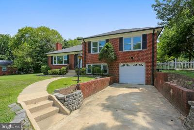 Silver Spring Single Family Home For Sale: 1209 Millgrove Road