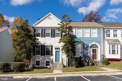 Burtonsville Townhouse Active Under Contract: 4012 Sparrow House Lane
