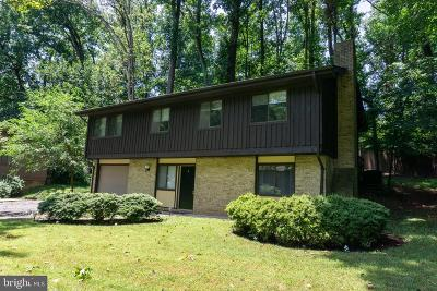 Gaithersburg MD Single Family Home For Sale: $2,400