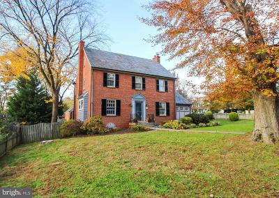 Chevy Chase Single Family Home For Sale: 6132 Western Avenue