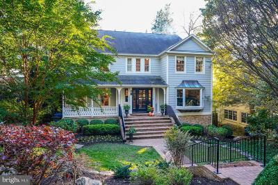 Chevy Chase Single Family Home For Sale: 4808 Cumberland Avenue