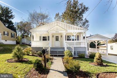 Silver Spring Single Family Home For Sale: 12316 Middle Road