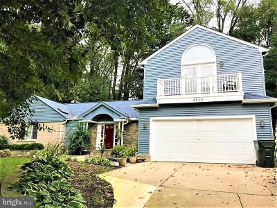 Rockville Single Family Home For Sale: 4509 Great Oak Road