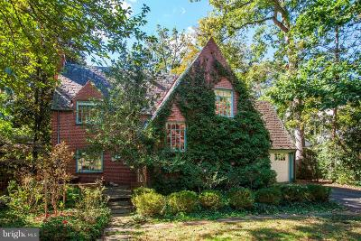Bethesda Single Family Home For Sale: 7818 Hampden Lane