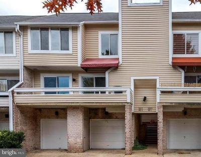 Gaithersburg Townhouse For Sale: 9815 Lake Shore Drive
