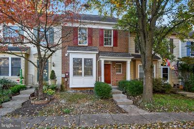 Gaithersburg Townhouse For Sale: 7526 Elioak Terrace