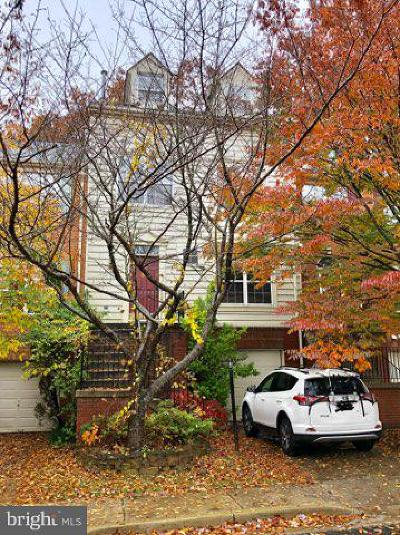 Montgomery County Townhouse Active Under Contract: 13424 Ansel Terrace
