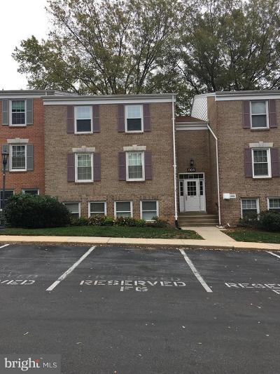 Gaithersburg Condo For Sale: 864 Quince Orchard Boulevard #201