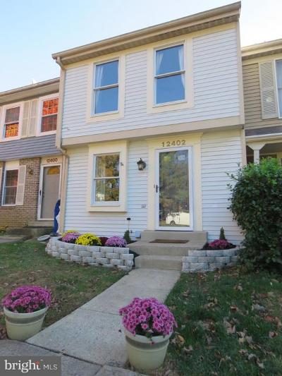 Germantown Townhouse For Sale: 12402 Valleyside Way