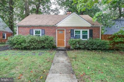 Silver Spring Single Family Home For Sale: 10700 Inwood Avenue