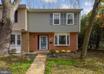 Rockville Townhouse Active Under Contract: 1741 Redgate Farms Court