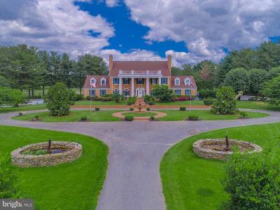 Gaithersburg MD Single Family Home For Sale: $2,500,000