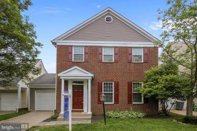 Gaithersburg Single Family Home For Sale: 8612 Castlebar Way