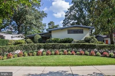 Chevy Chase Single Family Home For Sale: 5417 Surrey Street