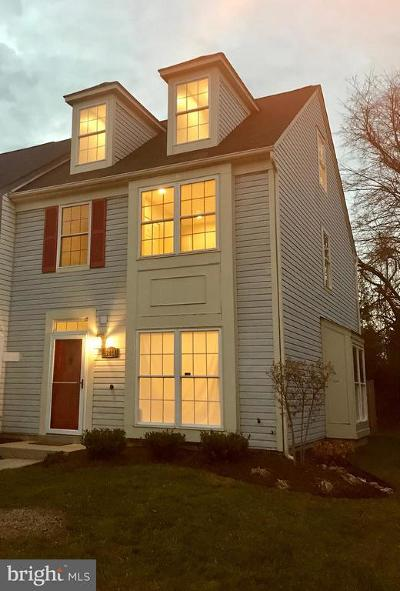 Silver Spring Townhouse For Sale: 13228 Verdi Court